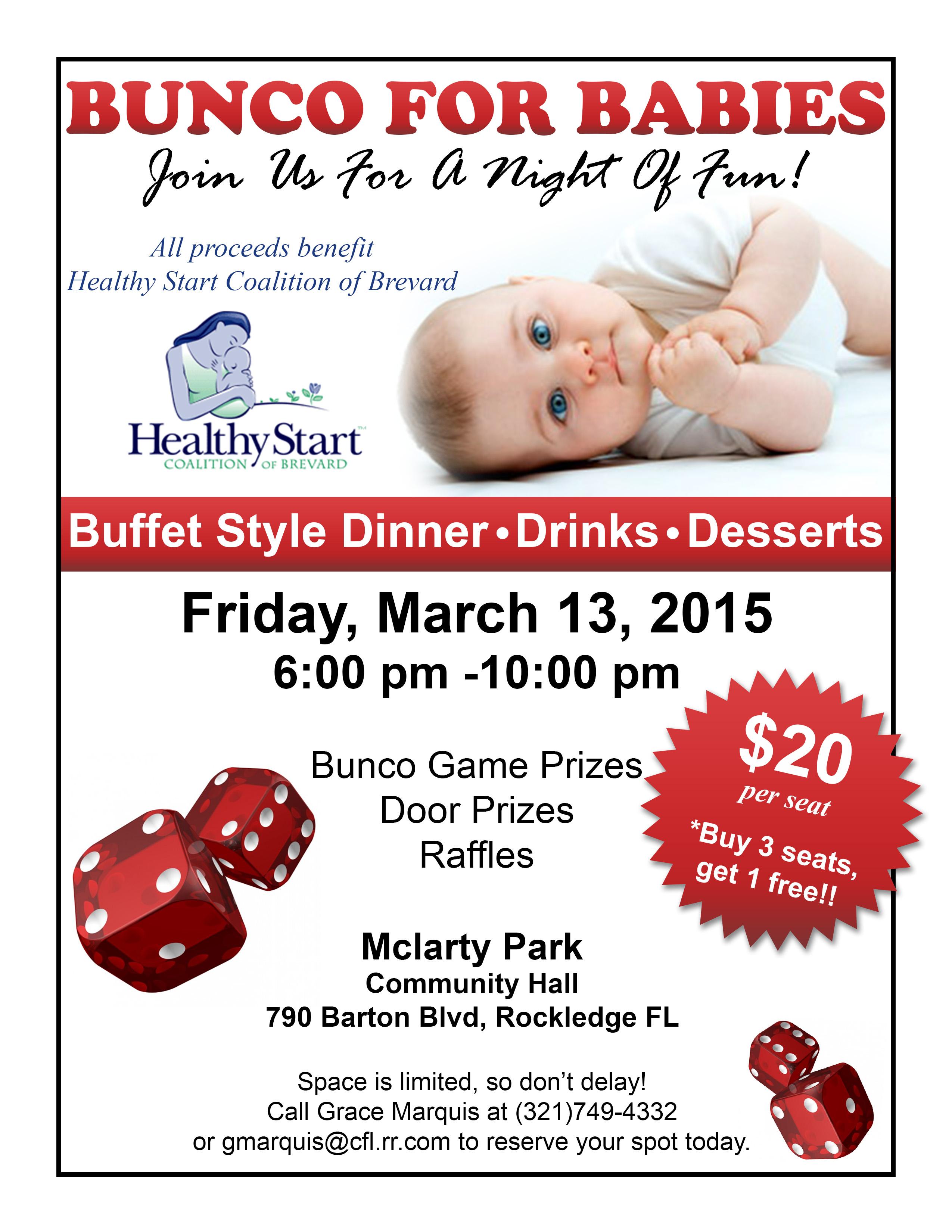 Healthy Start Bunco for Babies